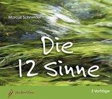 Die 12 Sinne, 3 Audio-CDs