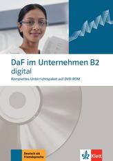 DaF im Unternehmen B2 digital, 1 DVD-ROM