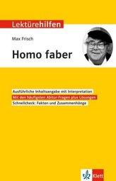 Lektürehilfen Max Frisch Homo faber