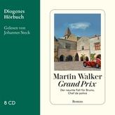 Grand Prix, 8 Audio-CDs