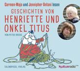 Geschichten von Henriette und Onkel Titus, Audio-CD