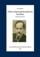 Frühe religionsphilosophische Schriften. Bd.1