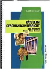 Rätsel im Geschichtsunterricht. Bd.1