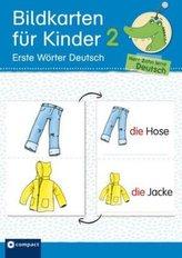Bildkarten für Kinder 2 - Erste Wörter Deutsch
