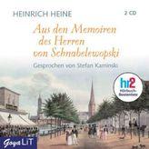 Aus den Memoiren des Herren von Schnabelewopski, 2 Audio-CDs
