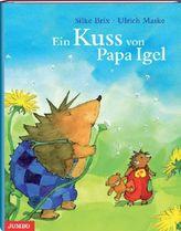 Ein Kuss von Papa Igel