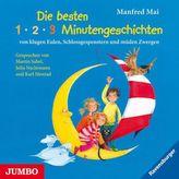 Die besten 1-2-3-Minutengeschichten von klugen Eulen, Schlossgespenstern und müden Zwergen, 1 Audio-CD