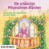 Die schönsten Prinzessinnen-Märchen, 1 Audio-CD