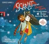 Scarlet und der Zauberschirm - Die wundersame Reise durch die Nacht, 1 Audio-CD