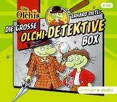 Die große Olchi-Detektive-Box, 4 Audio-CDs