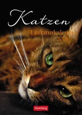 Katzen Literaturkalender 2018
