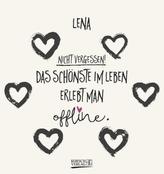 Namenskalender Lena