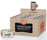 Leibspeisen-Quartett (Kartenspiel), 10 Spiele in Display