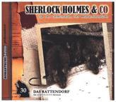 Sherlock Holmes & Co - Das Rattendorf, 1 Audio-CD