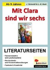 Peter Härtling 'Mit Clara sind wir sechs', Literaturseiten