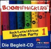 Boomwhackers - Rock / Latin / African Rhythm Party, 1 Begleit-CD. Bd.1