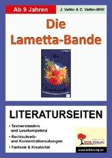Jo Pestum 'Die Lametta-Bande', Literaturseiten