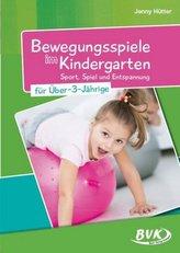 Bewegungsspiele im Kindergarten für Über-3-Jährige