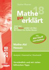 Mathe gut erklärt 2018 Hessen Grundkurs und Leistungskurs