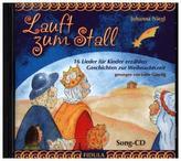 Lauft zum Stall - Song-CD, 1 Audio-CD