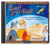 Lauft zum Stall - Playback-CD, 1 Audio-CD