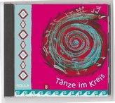 Tänze im Kreis. Tl.8, 1 Audio-CD