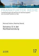 Solvency II in der Rechtsanwendung