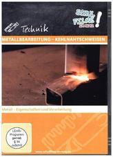 Metallbearbeitung - Kehlnahtschweißen, 1 DVD