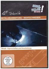 Metallbearbeitung - Nahtschweißen, 1 DVD