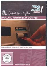 Girokonto bei einer Bank eröffnen, 1 DVD