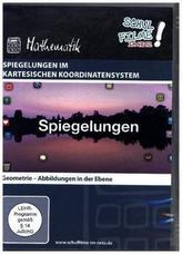 Spiegelungen im kartesischen Koordinatensystem, 1 DVD