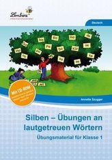 Silben Übungen an lautgetreuen Wörtern, m. CD-ROM