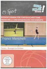 Bodenturnen für Fortgeschrittene - Menichelli und Bogengang rückwärts, 1 DVD
