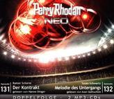 Perry Rhodan NEO - Der Kontrakt / Melodie des Untergangs, 2 MP3-CDs