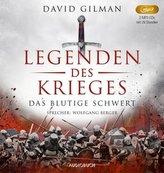 Legenden des Krieges - Das blutige Schwert, 2 MP3-CDs