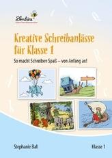 Kreative Schreibanlässe für Klasse 1