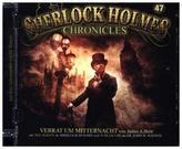 Sherlock Holmes Chronicles - Verrat um Mitternacht, 1 Audio-CD