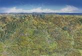 Panoramaposter Franken, Planokarte
