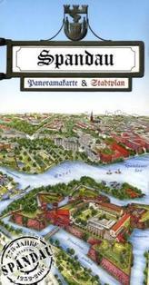 Spandau, Panoramakarte & Stadtplan