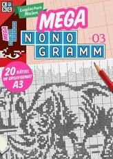 Mega-Nonogramm, 20 Bände. Bd.3