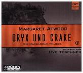 Oryx und Crake, 2 MP3-CDs
