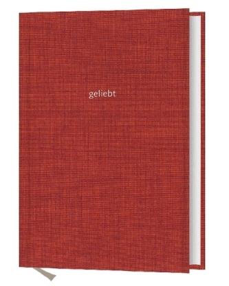 Notizbuch: geliebt