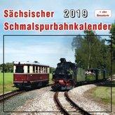 Sächsischer Schmalspurbahnkalender 2019