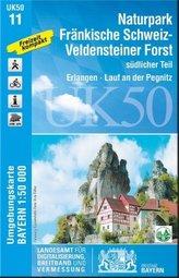UK50-11 Naturpark Fränkische Schweiz-Veldensteiner Forst, südl.Teil