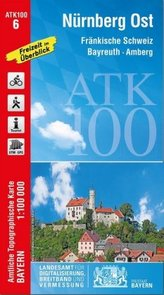 ATK100-6 Nürnberg Ost (Amtliche Topographische Karte 1:100000)