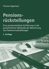 Pensionsrückstellungen, m. 1 CD-ROM