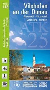 ATK25-L18 Vilshofen an der Donau (Amtliche Topographische Karte 1:25000)