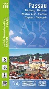 ATK25-L19 Passau (Amtliche Topographische Karte 1:25000)