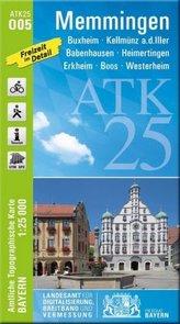 ATK25-O05 Memmingen (Amtliche Topographische Karte 1:25000)