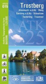 ATK25-O15 Trostberg (Amtliche Topographische Karte 1:25000)